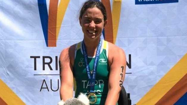 ROAD TO RIO: Former Toowoomba student Emily Tapp has been selected for next month's Paralympic Games in Rio.