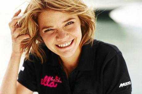 LEGEND: Solo round-the-world sailor Jessica Watson