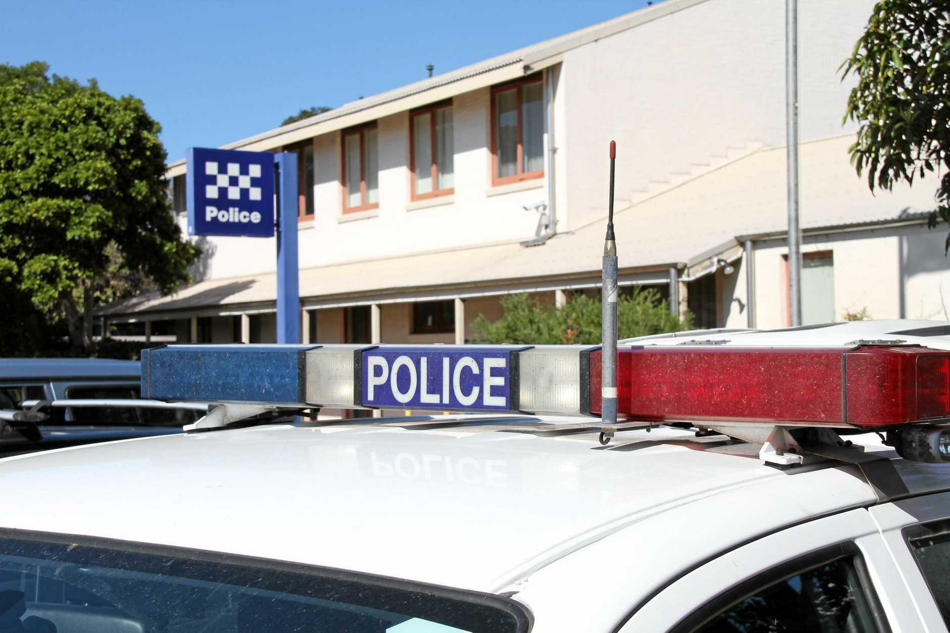 Ballina police station.
