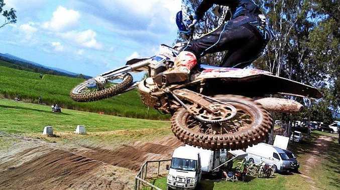 Mackay motocross rider Matt Dumigan.