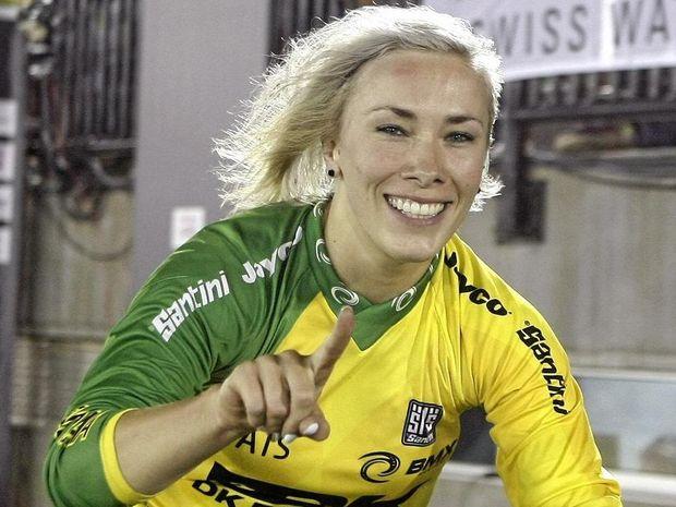 RIO 2016: Buchanan qualifies second fastest in BMX ... Caroline Buchanan