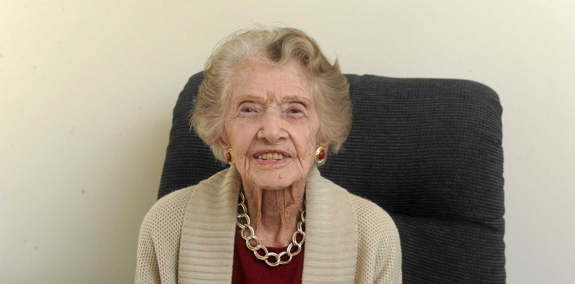 Winifred, or Win, Jefferies is celebrating more than a century of life in the Clarence Valley for her 104th birthday on Wednesday, August 24.