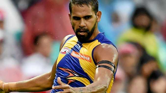 GOOD FORM: Lewis Jetta has been recalled by the Eagles.