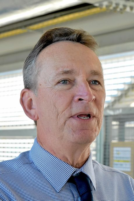 IN CHARGE: Sunshine Coast Hospital and Health Service chief executive Kevin Hegarty.