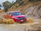 TOUGH ENOUGH: Holden keeps up with its rivals by offering more car-like engineering, technology and safety in the forthcoming MY2017 Colorado ute.