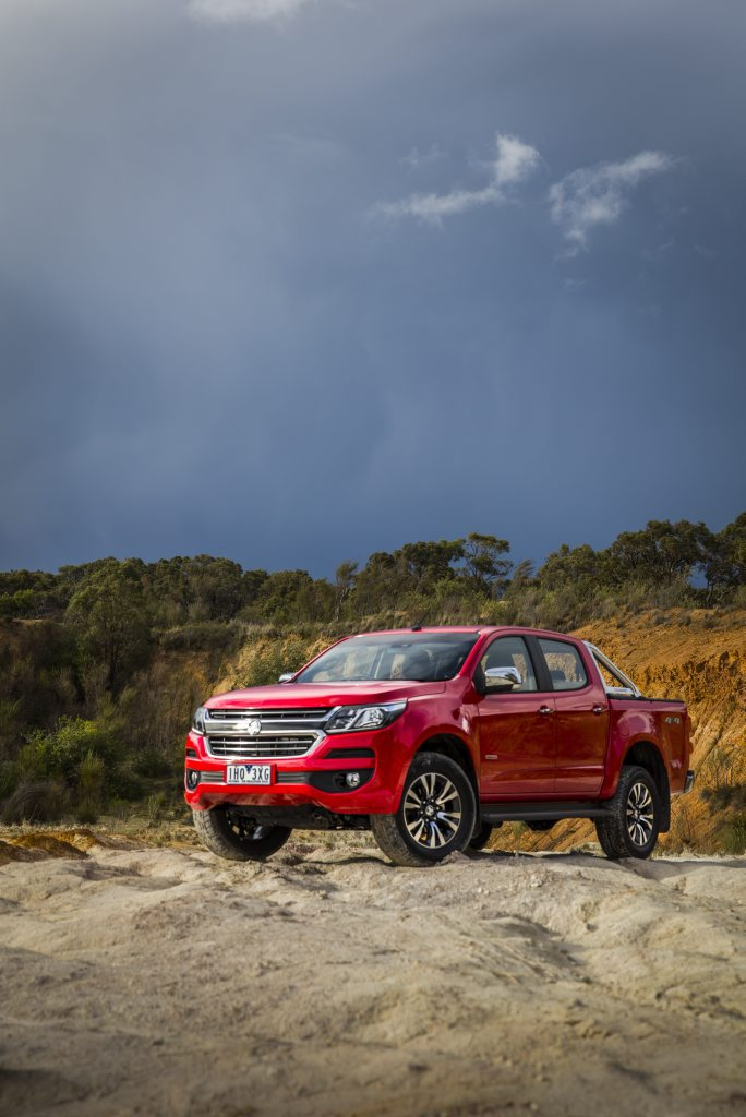 MY2017 Holden Colorado LTZ. Photo: Contributed