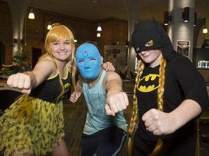 Marvel DC Superheroes night