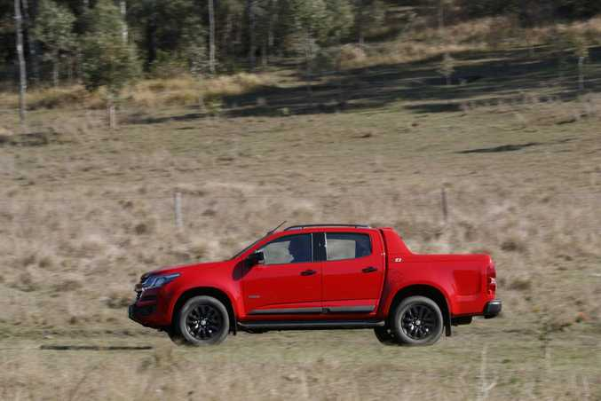 Model Year 2017 Holden Colorado. Photo: Contributed