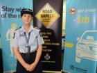 ROAD SAFETY: Senior constable Danielle Loftus reminding drivers to be cautious on our roads.