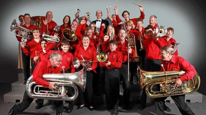 The Sunshine Brass Band.