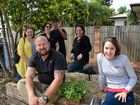 PLANTING THE SEED: Back row left to right, Shelley Pisani, Jenny Haack, Jason Haack and Suzy Evans; (front) Darren Street and Sasha Mackay at the soon-to-be-open Gavin St Community Garden.