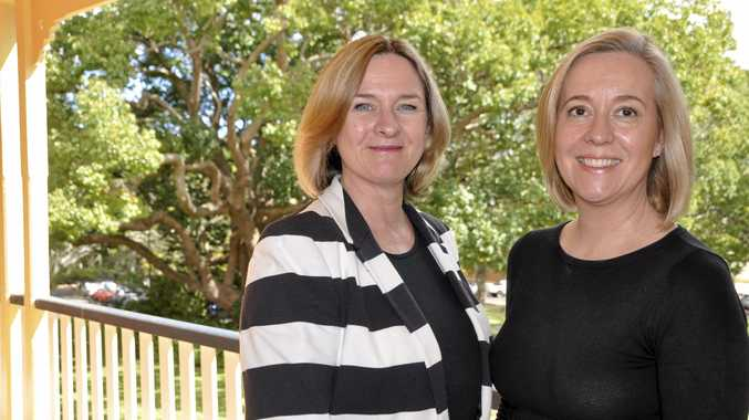 LOVE OF EDUCATION: Dr Alison Young (left) and Dr Debra da Silva have a passion for teaching.
