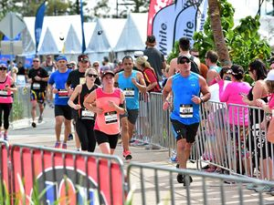 Which roads will be closed for Sunshine Coast Marathon?