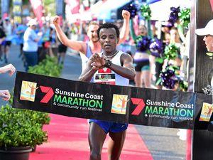 Everyone's out to catch speedy Sam in Marathon