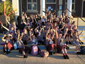 St Mary's students hit the right note at festival