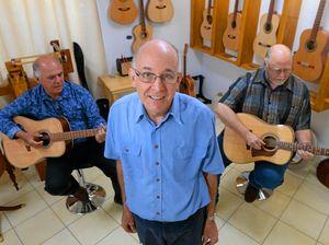 Mayor and muso praise Sam Vaughan's guitars