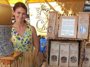 Lisa's chai stall is a hit at Eumundi
