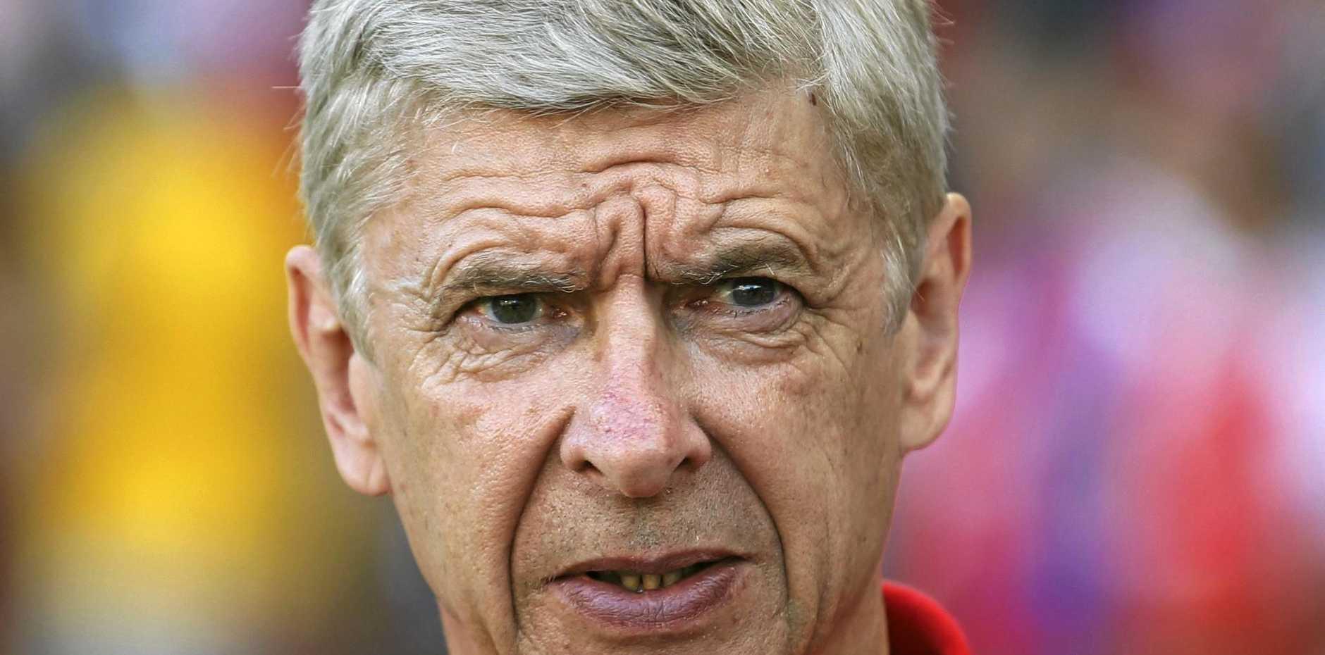 LEICESTER TRIP: Arsenal manager Arsene Wenger.