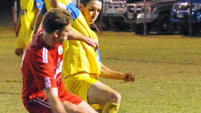 INJURED: Leon Dwyer (in yellow) will miss the finals.