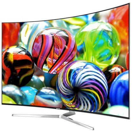 The Series 9 KS9500 Samsung television.