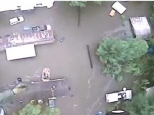 Flood wrecks home of preacher targeting gays