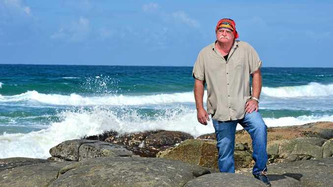 HEALTH KICK: Sunshine Coast resident Des Quilty is a contestant on the TV show Survivor.
