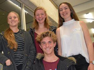 Young aspiring entrepreneurs pitch their business ideas
