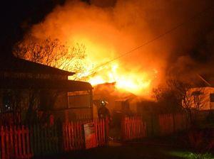 Warwick house fire