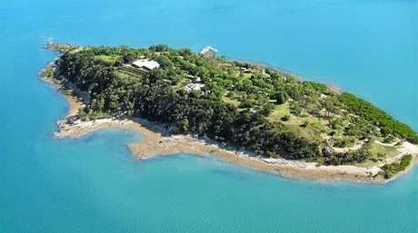 UP FOR SALE: Turtle Island is on the market.