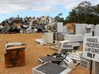 DISPOSABLE SOCIETY: Childers Waste Facility is packed with obsolete white goods.
