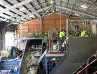 Bundaberg Regional Council's Material Recovery Facility.