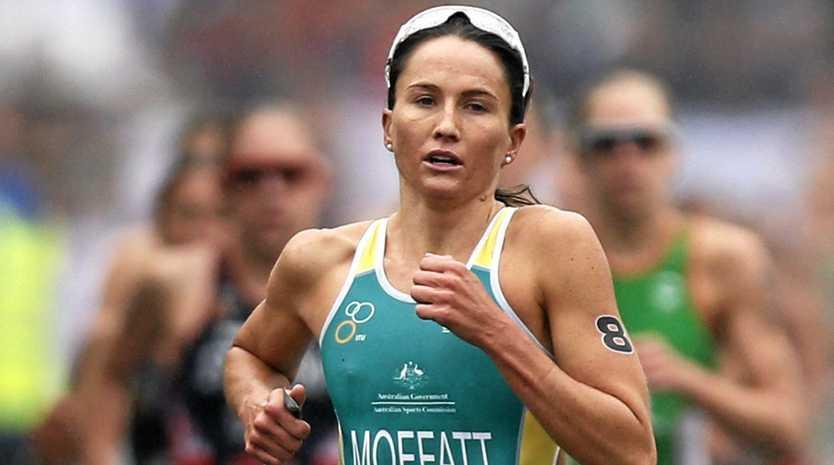SO CLOSE: Former Woolgoolga local, Emma Moffatt has narrowly missed out on winning bronze in Rio.
