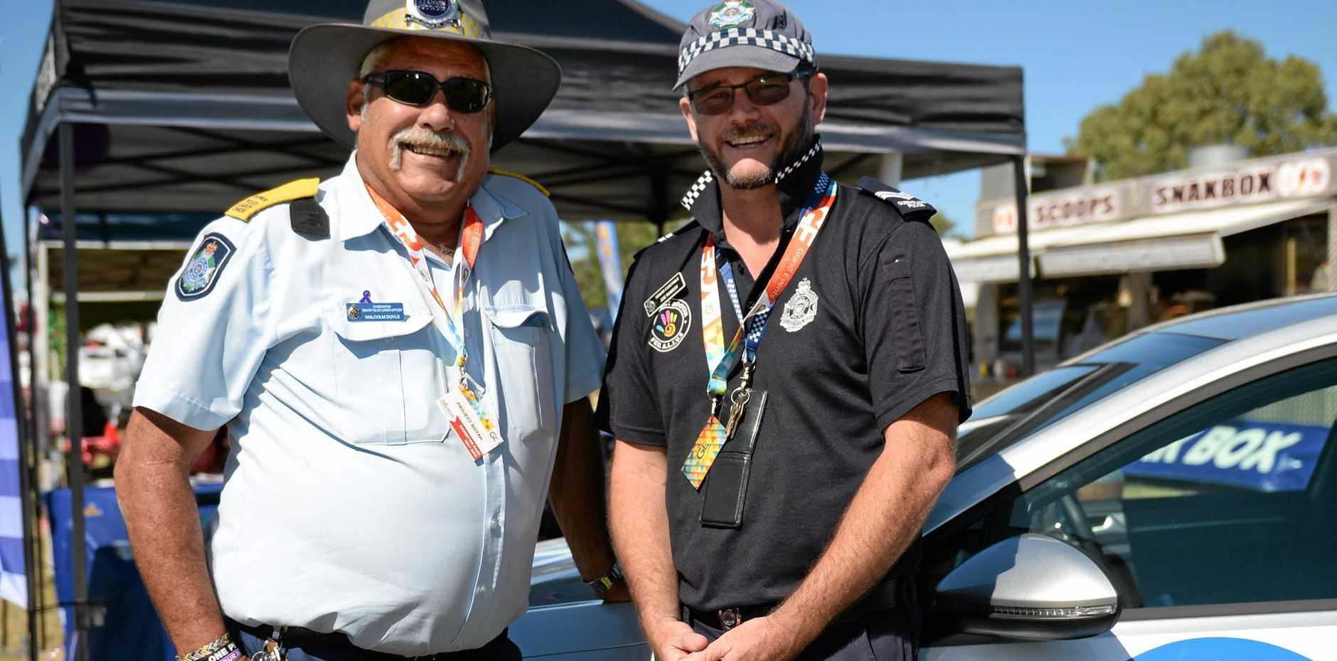 PROGRAM: Senior Constable Joe Ramsy, Rockhampton co-ordinator for Project Booyah.