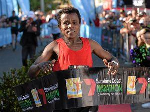 Coast marathon winner signals intentions for a three-peat