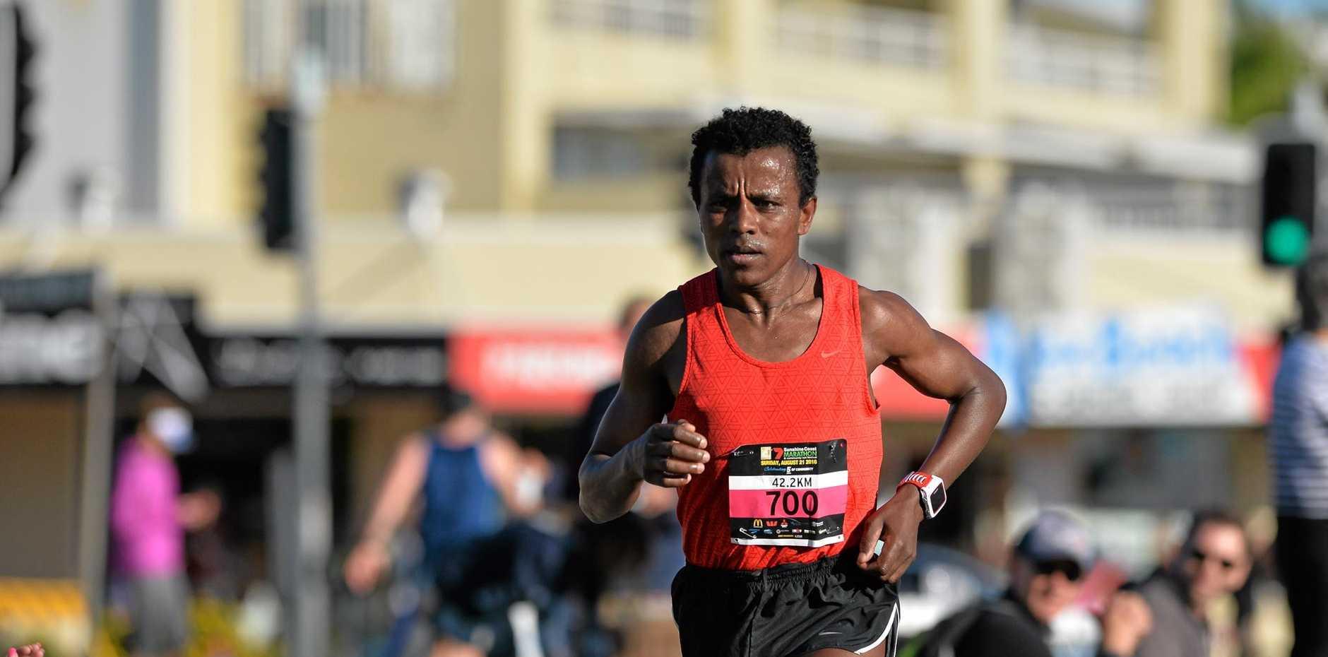 WINNER: Ethiopia's Samuel Woldeamanuel.