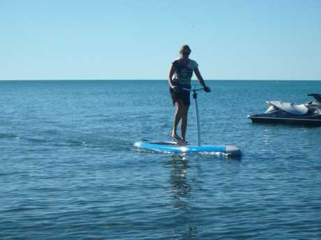 Stand up paddle boarding is a fun way to get out on the water and get some exercise