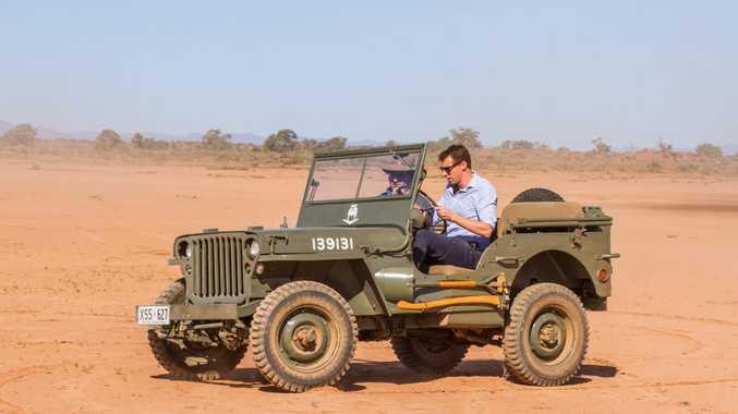 1942 Willys MB, Flinders Ranges, South Australia