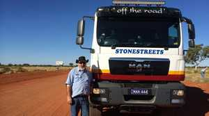 This is Peter Desmond, Stonestreets Coach Driver.