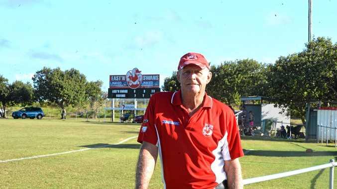 Eastern Swan's legend Bob Inkson.