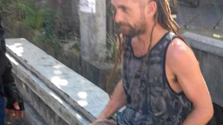 Police in Bali have arrested an Australian women and another man wanted for questioning over the death of an Indonesian policeman. Australian woman Sara Connor and a British man David James Taylor, 33, (pic) were taken into custody in Denpasar at 2pm on Friday, August 19, 2016. (AAP Image/Putra Sinulingga) NO ARCHIVING