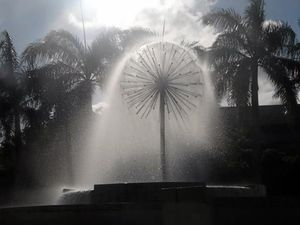 Why Mackay's city fountain will be turning yellow today