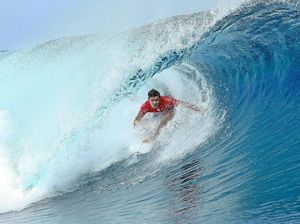 Wilson dumped out of Tahiti Pro despite perfect 10