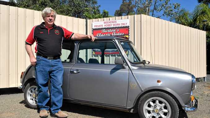REVVED UP: The Roma Historical Motor Club has enjoyed an incredible leap in membership, much to the delight of Publicity Officer Robert Burton.