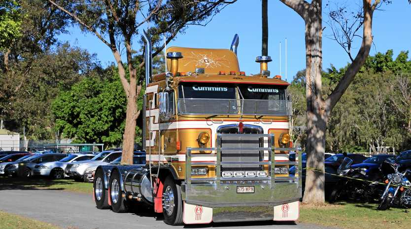 Trucks at the Gold Coast Truckshow on the weekend!
