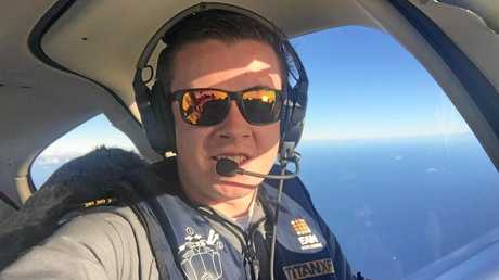 FLYING SOLO: Lachlan Smart is almost at the end of a solo around-the-world flight.