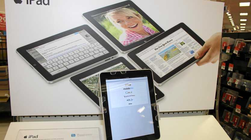 A thief in Mackay has a soft spot for Apple products