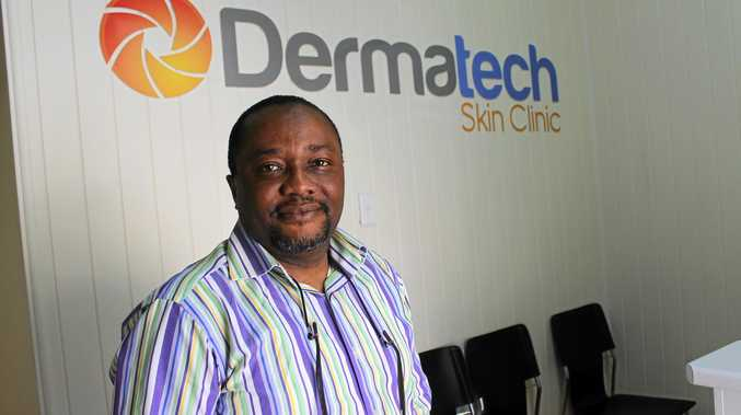 SAVE YOUR SKIN: Dr Peter Amadi of Dermatech Skin Clinic in Maryborough has completed a Master of Medicine in the field of skin cancer.