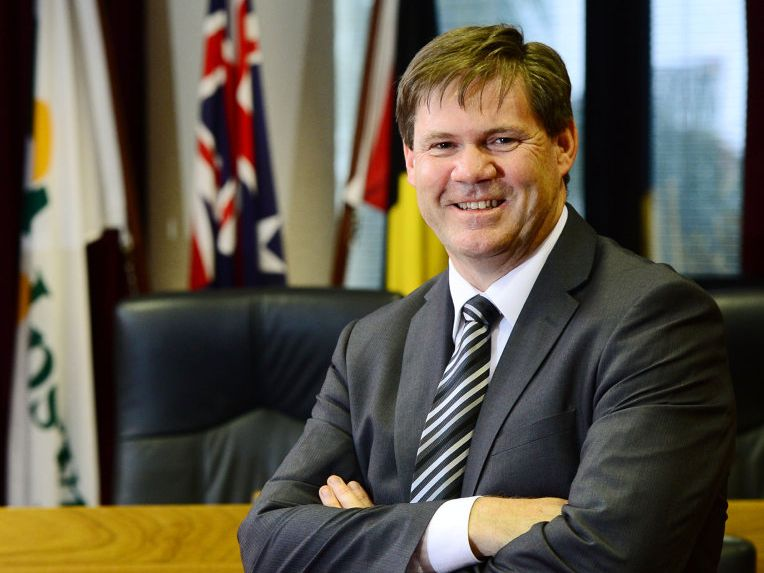 New Ipswich City Council CEO Jim Lindsay. Photo: David Nielsen / The Queensland Times