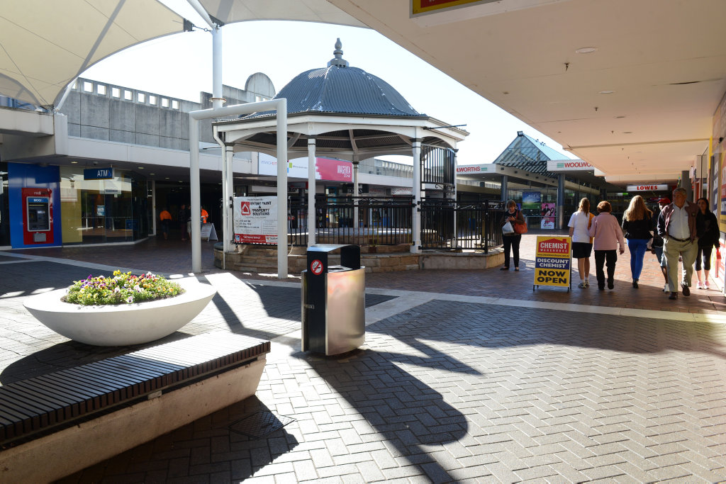 The Ipswich Mall is set for a revamp. Photo: Sarah Harvey / The Queensland Times