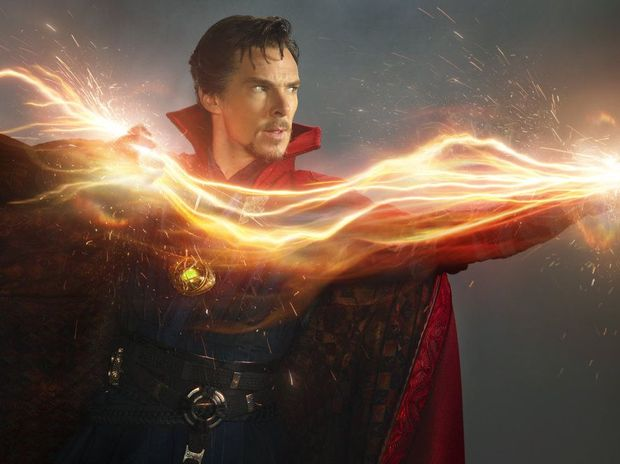Benedict Cumberbatch stars in the movie Dr Strange.